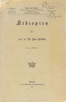 Müller, W. Max. - Äthiopien