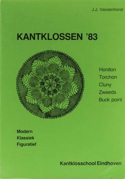 Vandenhorst, J. J. (Entwürfe) u. Vlasblom, Clara (Text) - Kantklossen '83