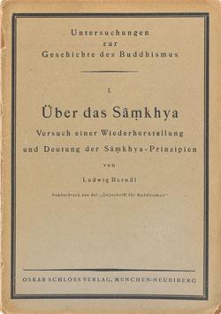 Berndl, Ludwig - Über das Samkhya - Versuch einer Wiederherstellung und Deutung der Samkhya-Prinzipien