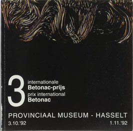 3 internationale Betonac-prijs - 3 prix international Betonac - 3 international Betonac prize
