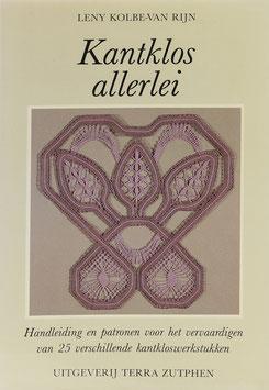 Kolbe-van Rijn, Leny - Kantklos allerlei - Handleiding en patronen voor het maken van 25 kantklos werkstukken