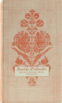 Kronberger-Frentzen, Hanna - Deutsche Stickmuster - Von ihren Anfängen bis zum Biedermeier
