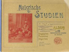 Malerische Studien - Aegypten, Tunesien, Algerien