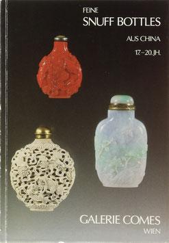 Chinesische Snuff Bottles aus vier Jahrhunderten