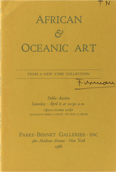 African and Oceanic Art - From a New York Collection