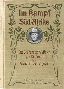Viljoen, Ben - Die Transvaaler im Krieg mit England - Kriegserinnerungen