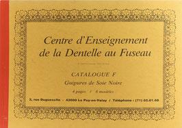 Fouriscot, Mick (Hrsg.) - Catalogue F - Guipures de Soie Noire