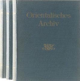Orientalisches Archiv - Illustrierte Zeitschrift für Kunst, Kulturgeschichte und Völkerkunde der Länder des Ostens