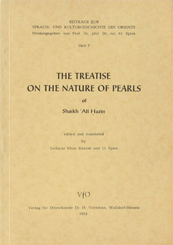 Hazin, 'Ali - The Treatise on the Nature of Pearls