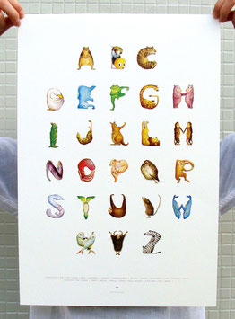 ABC Animal Poster