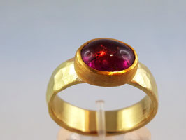 Turmalin Ring in 18ct Gold