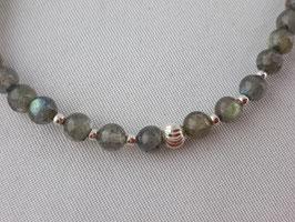 Labradorit Armband in Silber 925