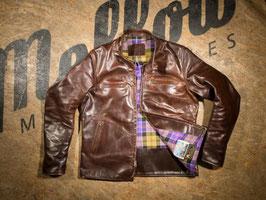 Mellow 'SPRINT RACER' Vintage Brown Lederjacke