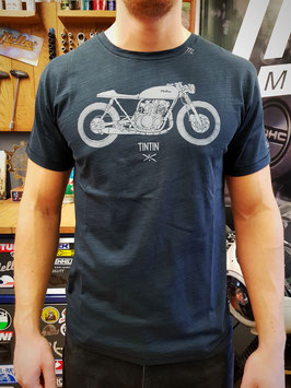 Mellow 'TINTIN' Cafe Racer T-Shirt