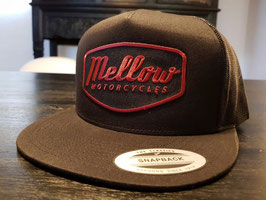 Mellow 'MOTORCYCLES' Red Trucker