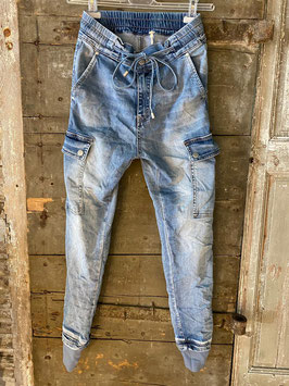 Jeans melly & co mit Bund