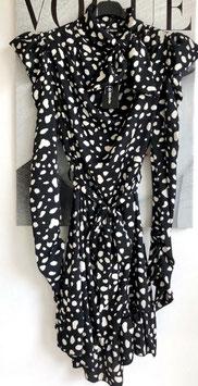 Kleid schwarzweiss
