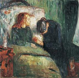 Das kranke Kind 1907, auf Leinwand