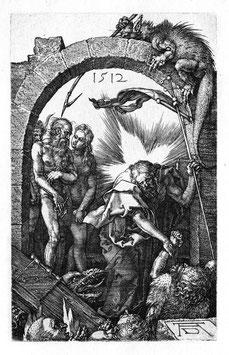 Christus in der Vorhölle, auf Aluminiumverbund