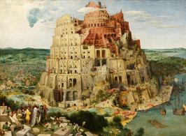 Großer Turmbau zu Babel, auf Posterpapier