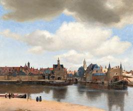 Ansicht von Delft, auf Leinwand