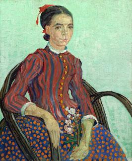 La Mousmé im Lehnstuhl, auf Posterpapier