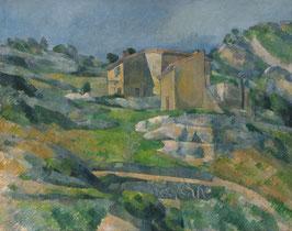 Haus in der Provence, auf Posterpapier