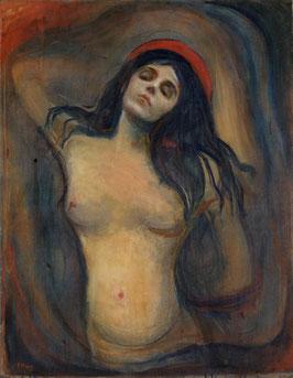 Madonna 1894-1895, auf Leinwand