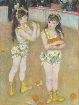 Akrobaten Im Zirkus Fernando, auf Leinwand