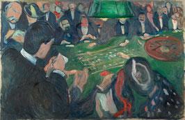 Am Roulettetisch in Monte Carlo, auf Leinwand