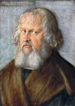 Bildnis Hieronymus Holzschuher, auf Aluminiumverbund