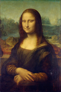 Mona Lisa, auf Aluminiumverbund