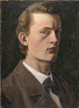 Selbstporträt von 1882, auf Leinwand