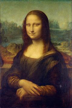 Mona Lisa, auf Leinwand