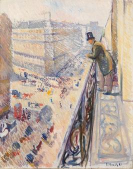 Rue Lafayette, auf Posterpapier