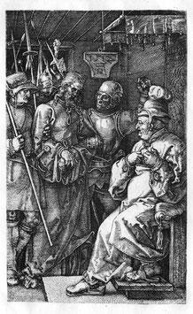 Christus vor Kaiphas, auf Aluminiumverbund