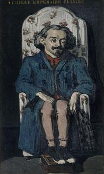 Porträt Achille Emperaire, auf Posterpapier