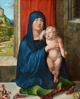 Haller Madonna, auf Posterpapier