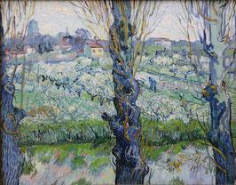 Blick auf Arles, auf Leinwand