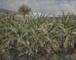 Bananenfeld, auf Leinwand
