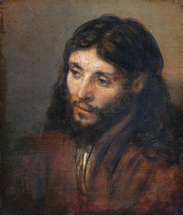 Ein Christus nach dem Leben, auf Posterpapier