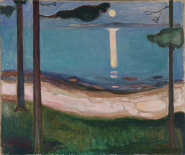 Mondlicht, auf Leinwand
