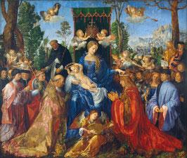 Das Rosenkranzfest, auf Posterpapier