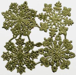 Prägeoblate Ornamente-Stern