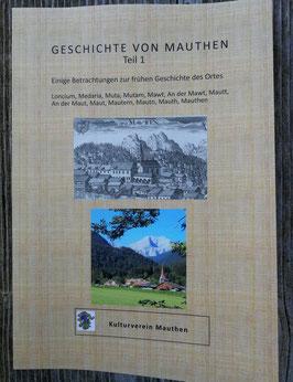 Die Geschichte von Mauthen - Band 1