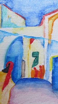 Wunderschön abgemalt - zahle 5, erhalte 6 - Hochglanzphoto auf Klappkarte C6 in verschiedenen Farben inkl. passendem Umschlag, cellophaniert