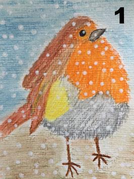 Weihnachtskarten verschiedene Motive - Hochglanzphoto auf Klappkarte C6 in verschiedenen Farben inkl. passendem Umschlag, cellophaniert
