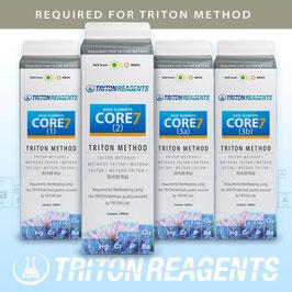 Triton Core 7 Base Elements zur Anwendung für die Triton Methode 4 x 1000ml im Tetrapack