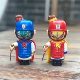 5変面おもちゃ:変面人形(兵馬俑)
