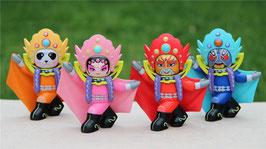 3変面おもちゃ:変面人形(四字寓意)
